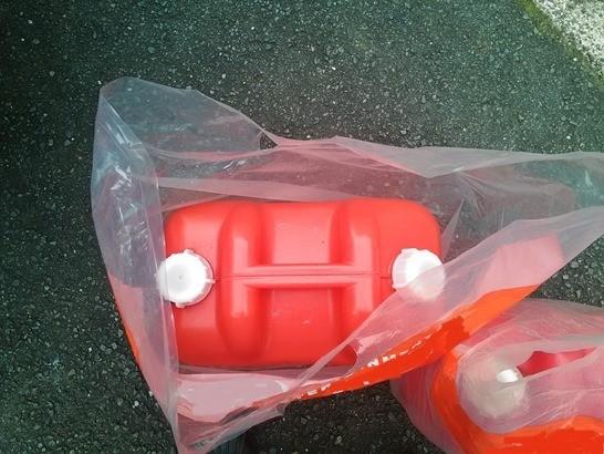 ポリ缶を入れる袋でおすすめのポリ袋を発見!!